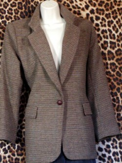 Gently Worn Ladies Blazer