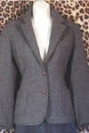 No Label Classic Tweed Gently Worn Ladies Blazer