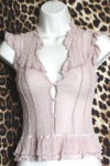 Gently Worn Top Romantic Blouse