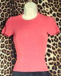Gently Worn Top color is Salmon