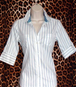 Summer Fresh Striped Shirt Size: S
