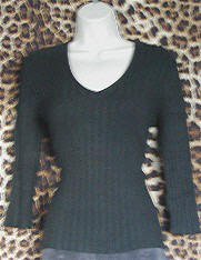 Retro V Neck Top
