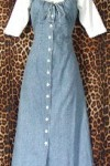 Pre Owned White Stag Shirtdress