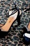 Retro Front Row High Heel with Ankle Strap