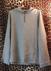 Retro Linen Hoody Top