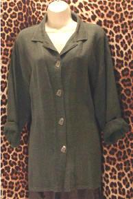 Pre-Owned Keller Linen Blouse Jacket