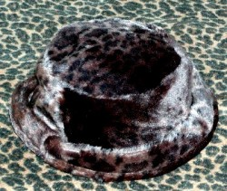 Furry Cozy Never Worn Hat