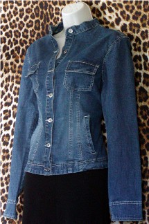 Never Worn French Cuff Denim Jacket
