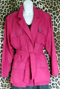 Pre-Owned Hot Pink Jacket