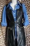 Pre Owned Ms Maxima Leather Vest