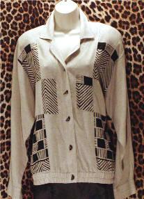 Pre-Owned Nino Wong Blouson Jacket