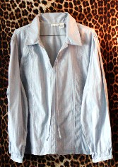 Gently Worn Light blue Blouse