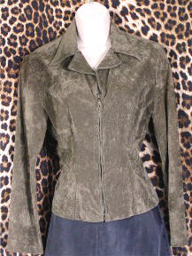 Pre-Owned Olive Green Jacket