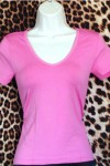 Pre Owned Hot Pink Top