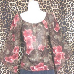 Pre Owned rich brown Top