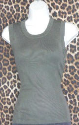 Retro Sleeveless Top