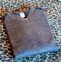 Retro Man's Sweater Slant