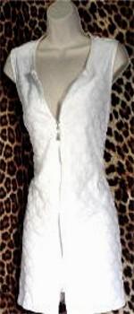 Gently Worn White mini Dress
