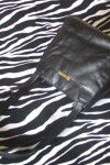 Pre-Owned Black Leather Shoulder Bag