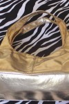 Pre-Owned Golden Hobo Handbag