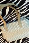 Pre-Owned Liz Claiborne Woven Summer Handbag