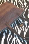 Pre-Owned Soft Woven Brown Handbag