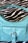 Pre-Owned Turquoise Handbag