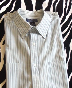 Pre-Owned Casual Summer Striped Shirt
