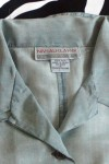 Pre-Owned Niveau Classics Button Front Silk Shirt
