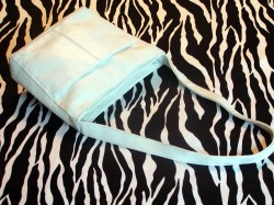 Vintage White Leather Handbag Shoulder Bag