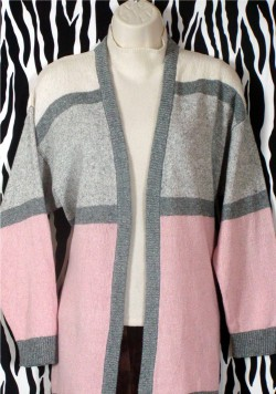 Warm Retro Cardigan Size S