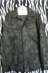 Cotton Military Style Camouflage Shirt Jacket
