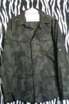 Cotton Military Style Camouflage Shirt Jacket
